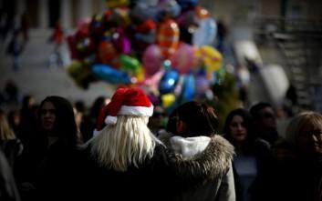 Αύξηση στον τζίρο των καταστημάτων τις ημέρες των Χριστουγέννων