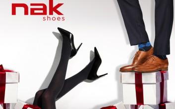 Χριστούγεννα για όλη την οικογένεια στη Nak shoes d90d85edc48
