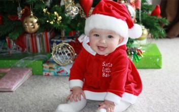 Πρώτα Χριστούγεννα με μωρό