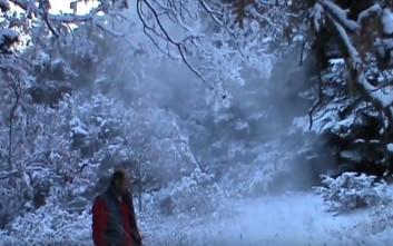 Θερμές αέριες μάζες βγαίνουν από σπήλαιο στην Ελάτη Κοζάνης