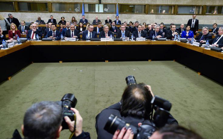 Ολοκληρώθηκε η διάσκεψη της Γενεύης για το Κυπριακό