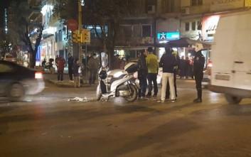 Μοτοσικλετιστής συγκρούστηκε με λεωφορείο
