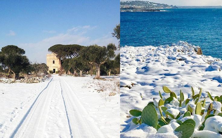 Ο Ιταλός «Νοστράδαμος», ο διήμερος χιονιάς στο Σαλέντο και το τέλος του κόσμου