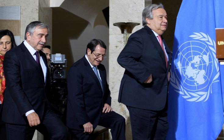 ΟΗΕ: Πλήρης δέσμευση των εγγυητριών δυνάμεων για συνολική επίλυση του Κυπριακού