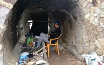Στο κάτω κάστρο της Μυτιλήνης κατέφυγαν οι πρόσφυγες