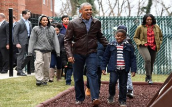 Διακοπές στο Παλμ Σπρινγκς για τους Ομπάμα μετά τον Λευκό Οίκο