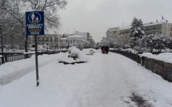 Σε συναγερμό οι αρχές σε Τρίκαλα και Καρδίτσα ενόψει των νέων χιονοπτώσεων