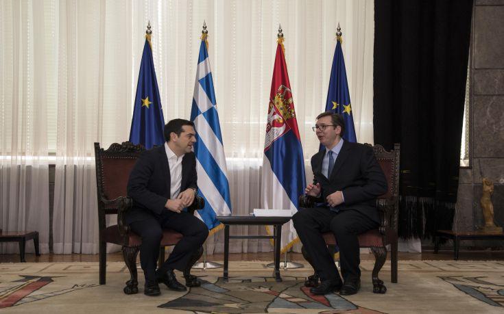 Τσίπρας: Nα γίνει «στρατηγική» η συνεργασία Ελλάδας και Σερβίας