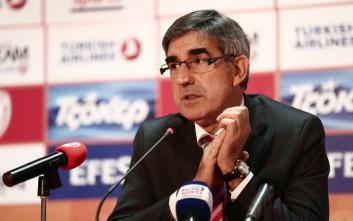 Μπερτομέου για Ολυμπιακό: Δεν κινδυνεύει η συμμετοχή του στην Euroleague