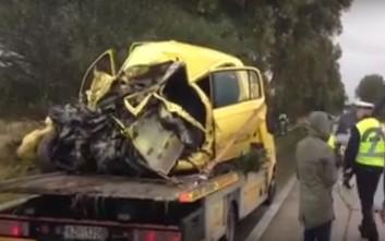 Τροχαίο δυστύχημα στην εθνική οδό Πατρών – Πύργου με έναν νεκρό