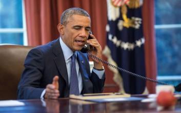 Ποιον ξένο ηγέτη αποχαιρέτισε τελευταίο τηλεφωνικά ο Ομπάμα