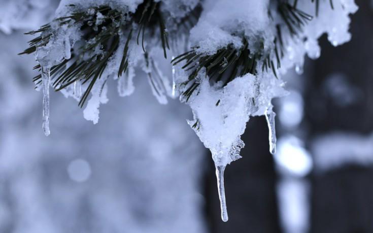 Θερμοκρασίες κάτω από το 0 και παγετός και την Κυριακή