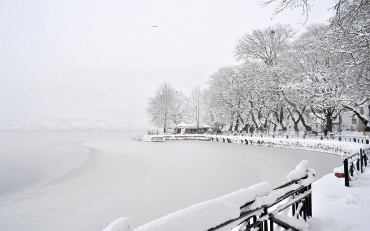 Παγετός σε Ιωάννινα και Θεσπρωτία