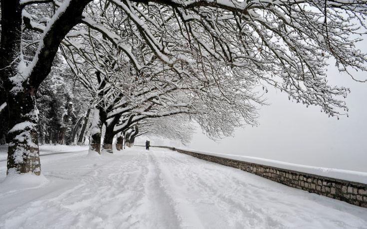 Χιονίζει προς τον Μπράλο και τον Δομοκό