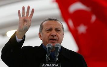 Ο Ερντογάν καλεί τους Τούρκους της διασποράς να κάνουν πολλά παιδιά