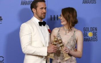 Το La La Land έλαμψε στις Χρυσές Σφαίρες