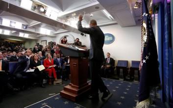 Ομπάμα: Θα είμαι εδώ και θα μιλάω εάν απειληθούν οι αξίες μας