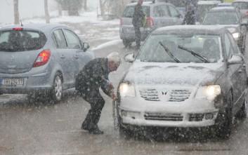 Απεγκλωβίστηκαν με ασφάλεια τα οχήματα από την Πούντα Καλαβρύτων