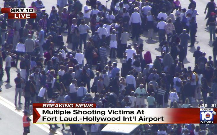 Νεαρός άνοιξε πυρ και σκότωσε τουλάχιστον 5 άτομα σε αεροδρόμιο της Φλόριντα