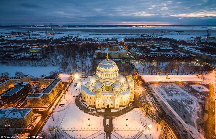 Καθεδρικός ναός στο Kronstadt, Ρωσία