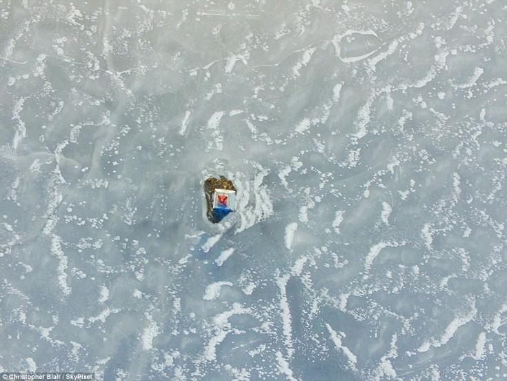 Φάρος σε λίμνη στο Οντάριο του Καναδά