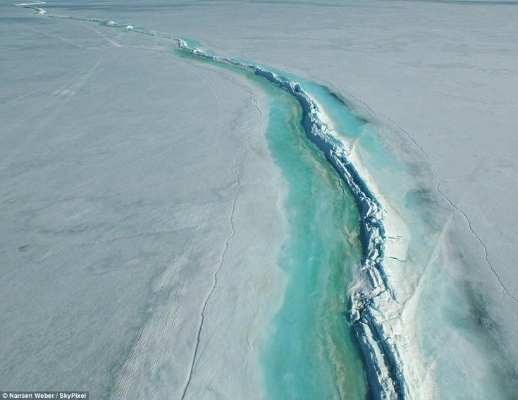 Η λίμνη Ennadai στον Καναδά