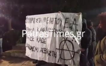 Ένταση στην εκδήλωση για τον Τεμπονέρα στην Πάτρα