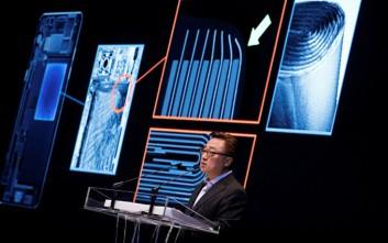 Στην μπαταρία ρίχνει την ευθύνη για τις εκρήξεις κινητών η Samsung