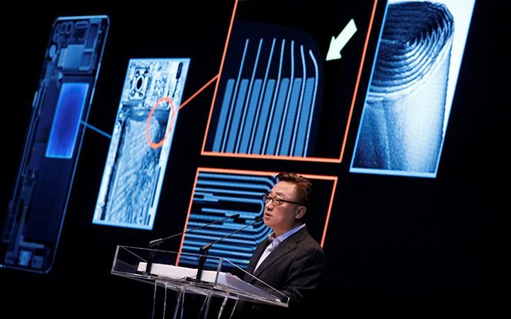Στη μπαταρία ρίχνει την ευθύνη για τις εκρήξεις κινητών η Samsung
