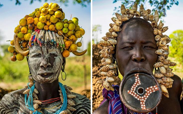 Οι εντυπωσιακές εμφανίσεις των φυλών της Αιθιοπίας