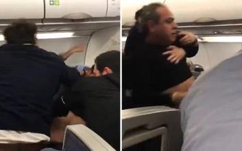 Αεροσκάφος έκανε αναγκαστική προσγείωση λόγω άγριου καβγά στον αέρα