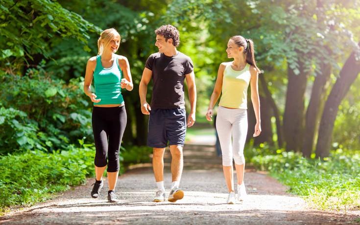 Εξίσου αποτελεσματική η ήπια άσκηση για απώλεια βάρους