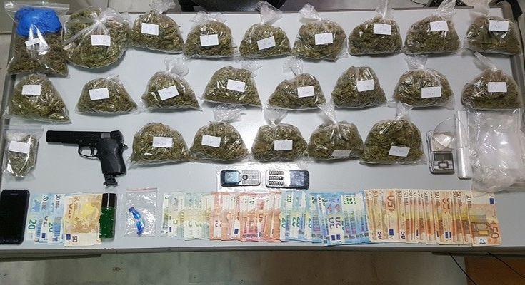 Μεγάλη αστυνομική επιχείρηση για ναρκωτικά στα Χανιά