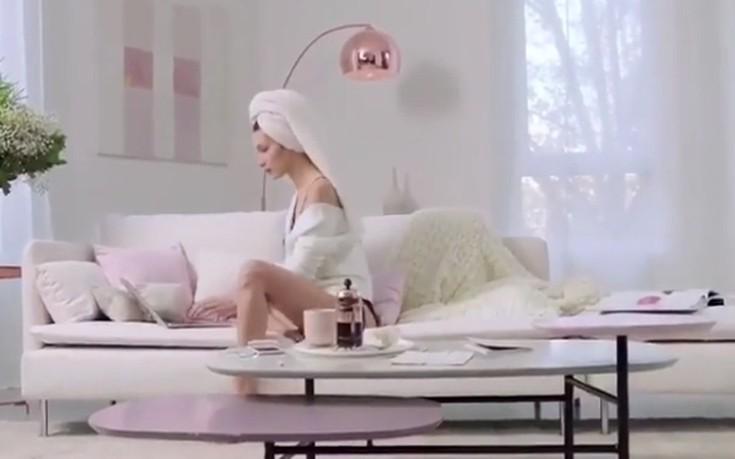 Έτσι ετοιμάζεται η Bella Hadid κάθε πρωί