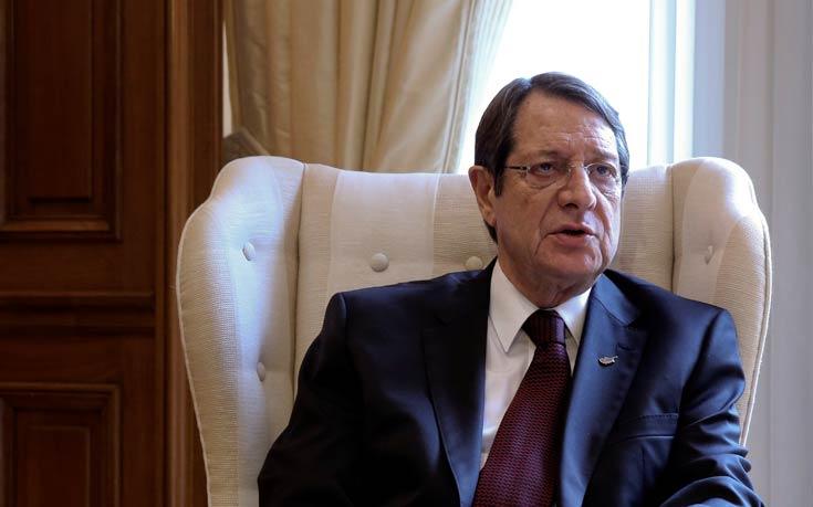 Αναστασιάδης για Κυπριακό: Έχω εισπράξει την απόλυτη κατανόηση των Ευρωπαίων εταίρων