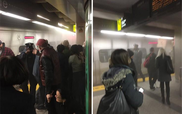 Εκτροχιασμός τρένου στη Νέα Υόρκη με πολλούς τραυματίες