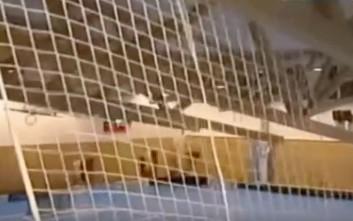 Κατέρρευσε οροφή γηπέδου χόκεϊ στην Τσεχία