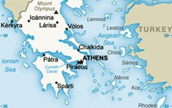 Ο χάρτης της CIA για την Ελλάδα δεν συμπεριλαμβάνει το Καστελόριζο
