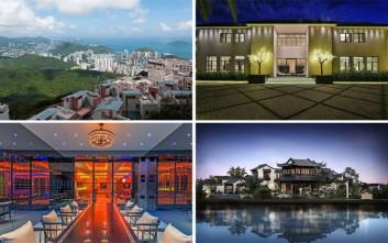 Το σπίτι που πουλήθηκε για 270 εκατ. δολάρια κι άλλες «χρυσές» κατοικίες