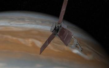 Τα πρώτα στοιχεία του Juno για τη μορφολογία του πλανήτη Δία