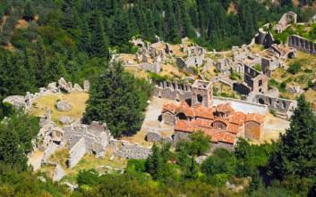 Ο Μυστράς σε ψηφοφορία του TripAdvisor για τα λιγότερο γνωστά μνημεία της UNESCO