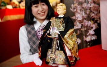 Ο Ντόναλντ Τραμπ έγινε κούκλα στην Ιαπωνία