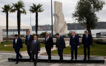 Μηνύματα ενότητας και αλληλεγγύης από τους ηγέτες στη Λισαβόνα