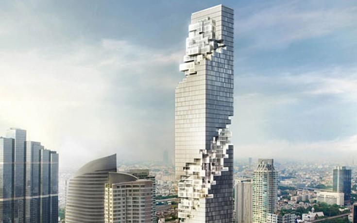Ο ουρανοξύστης που μοιάζει με Jenga