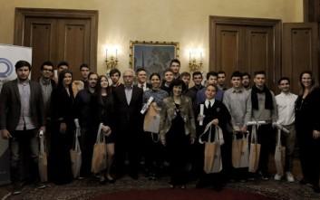 Το Ίδρυμα Ωνάση τίμησε τους μαθητές που διακρίθηκαν στις Επιστημονικές Ολυμπιάδες