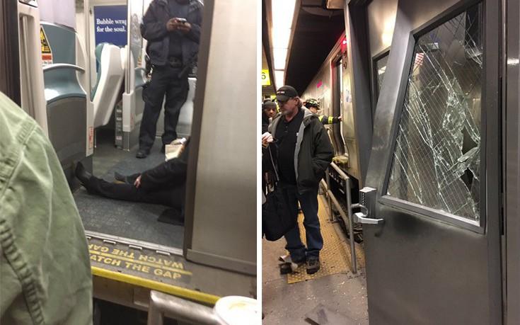 Τουλάχιστον 76 τραυματίες από τον εκτροχιασμό τρένου στο Μπρούκλιν