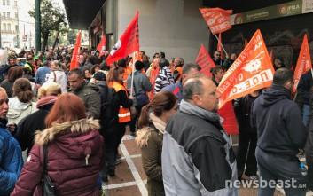 Συγκέντρωση διαμαρτυρίας της ΠΟΕ-ΟΤΑ στο υπουργείο Εργασίας