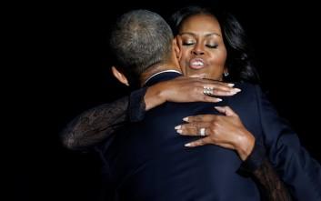 Το συγκινητικό tweet της Μισέλ Ομπάμα: Σε αγαπώ, Μπαράκ