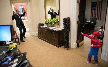 Οι αγαπημένες φωτογραφίες του φωτογράφου του Ομπάμα στον Λευκό Οίκο