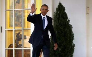 Ο Ομπάμα έφυγε για τελευταία φορά από το Οβάλ Γραφείο